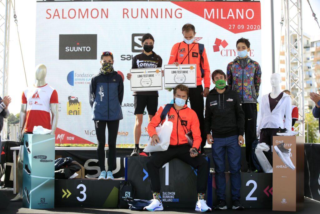 salomon running milano podio